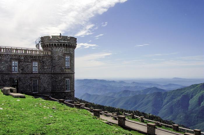 Observatoire, Mont Aigoual © Olivier Prohin PNC
