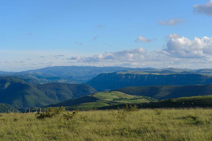 Paysages du Parc National des Cévennes